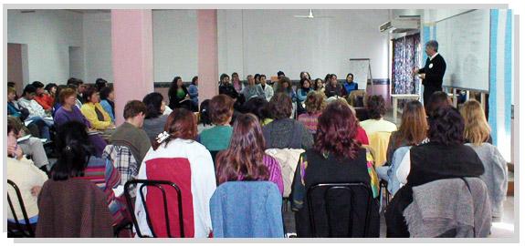 Carlos Sica dictando el Seminario de Capacitación.